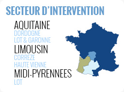 Secteur d'intervention ATV